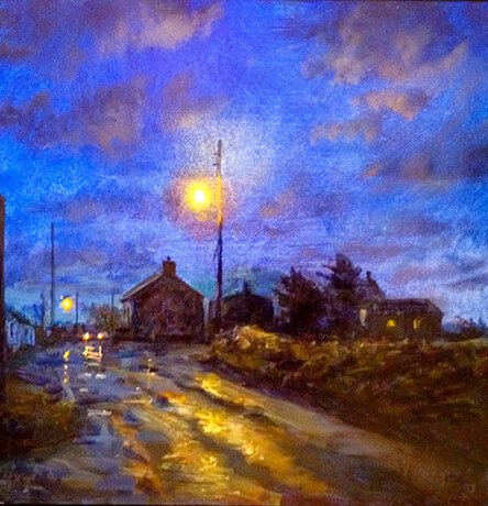 Vincent Crotty Bunbeg Twilight