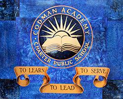 Codman Academy sign