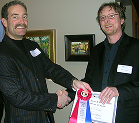 Vincent is award Best in Show from Duxbury Art Associate
