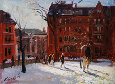 Vincent Crotty Harvard Yard