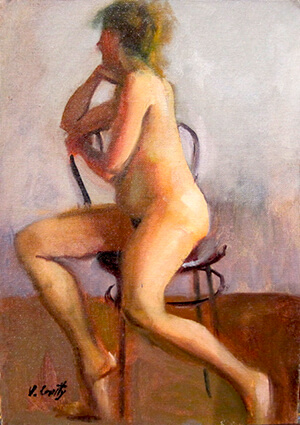 Vincent Crotty Nude in North Light