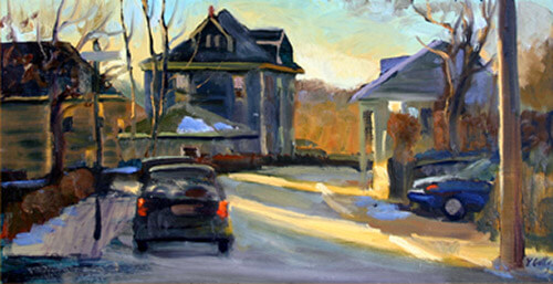 Vincent Crotty Savin Hill Street Scene