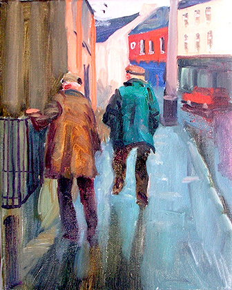 Vincent Crotty Two Men Walking, Kanturk