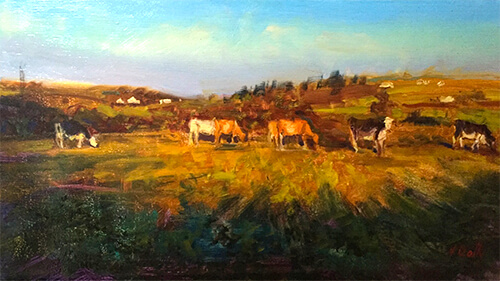 Vincent Crotty West Cork Cows