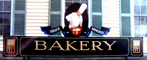 bakery traditional signage