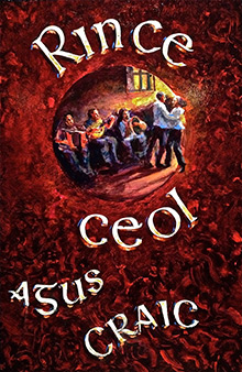 rince ceol asus craic traditional sign
